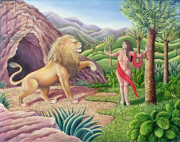 Animality (oil on canvas)