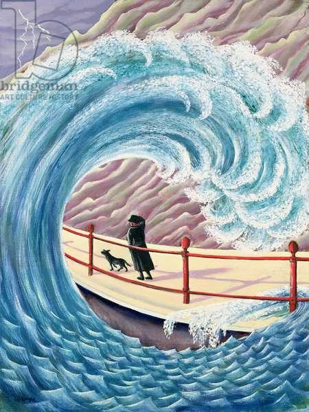 Tidal Wave, 1993 (panel)