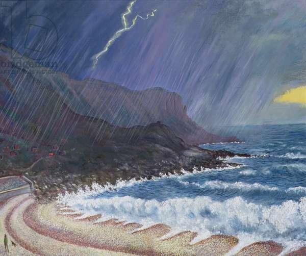 Storm, 1999 (oil on board)
