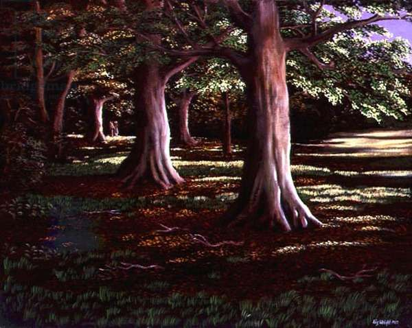 Lovers and Beech Trees, 1987