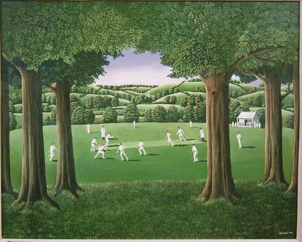 Village Cricket, 1980