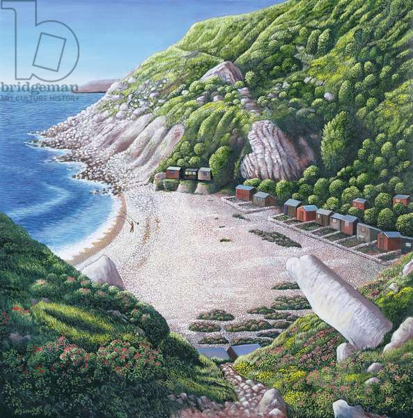 Church Ope Cove, 1999 (oil on canvas)