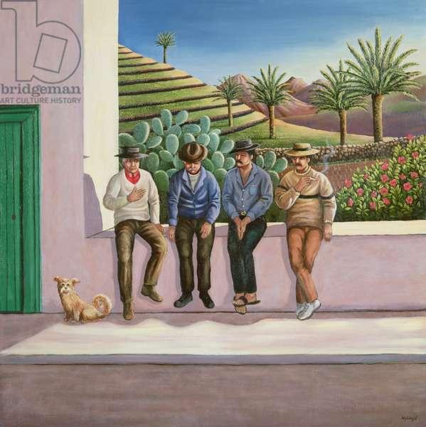 Lanzarote Lads, Canary Islands, 1990