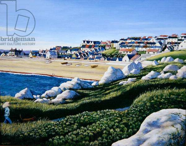 A View of Fortuneswell, 2005 (oil on canvas)