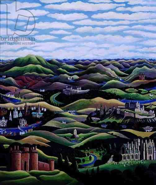 Scotland, 1997 (acrylic on paper)