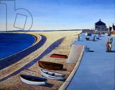 The Promenade, 2005 (oil on board)