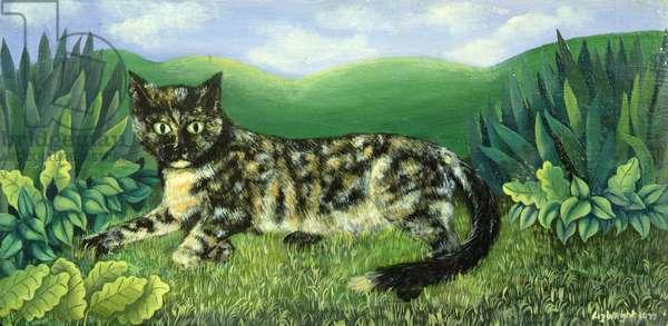 Norton the Cat, 1973 (panel)