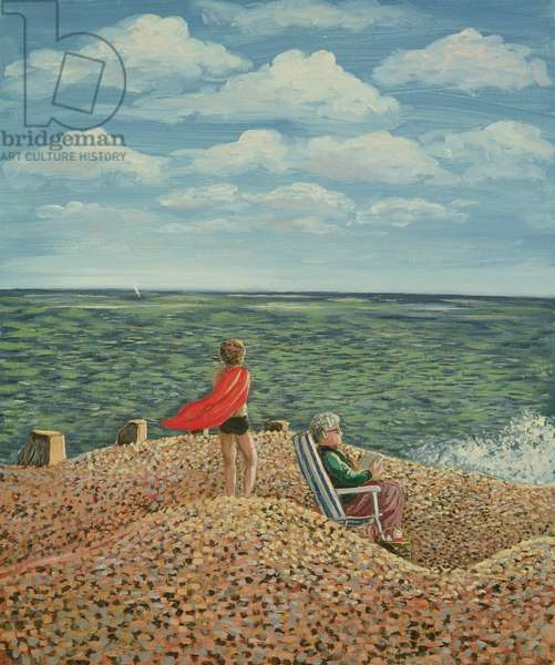 A Windy Day, 1984 (panel)