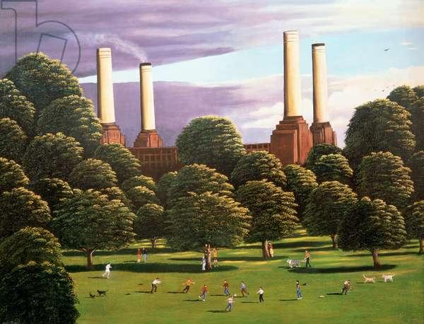 Battersea Power Station, 1982