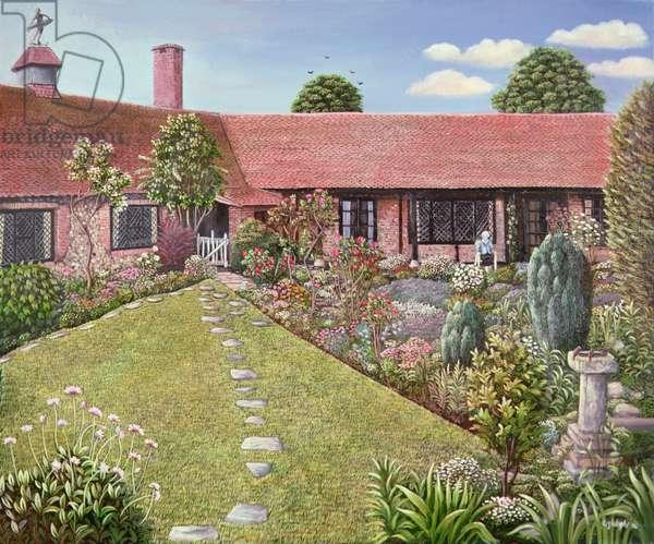 A Garden at Worthing, Sussex, 1983