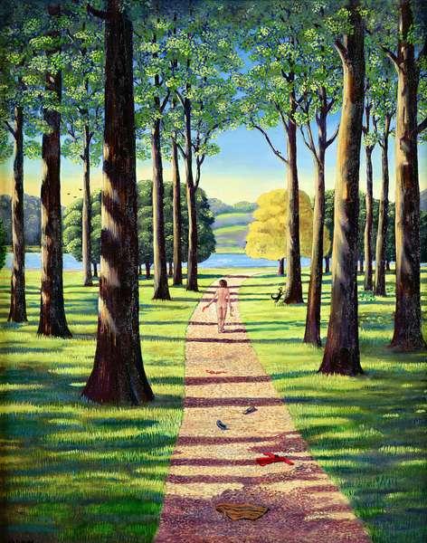 Stroll in Richmond Park, 1995
