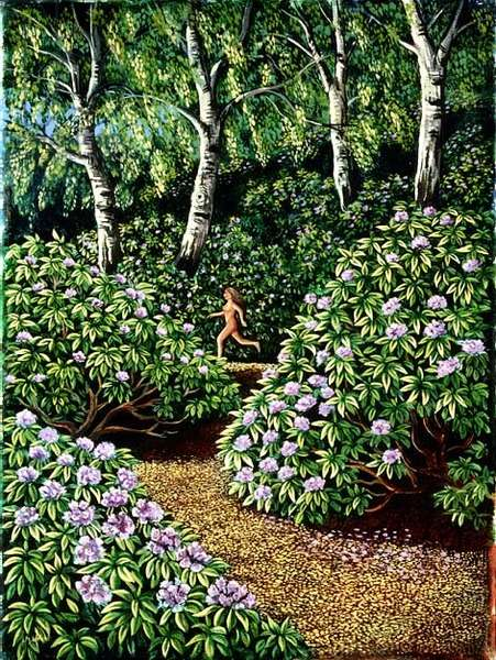 Nude in Rhododendrons, 1991