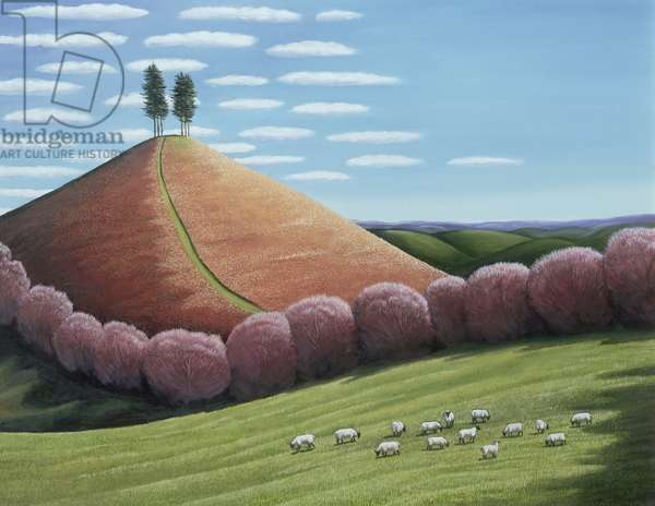 Red Hill (oil on canvas)