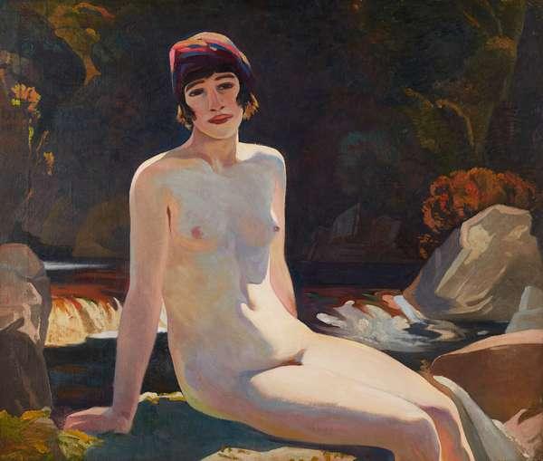 Cecile (Walton) at Crianlarich (on canvas)