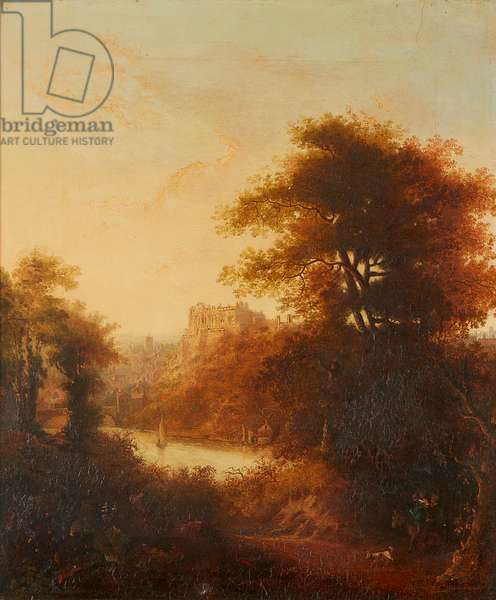 Durham Cathedral From the River (oil on canvas)