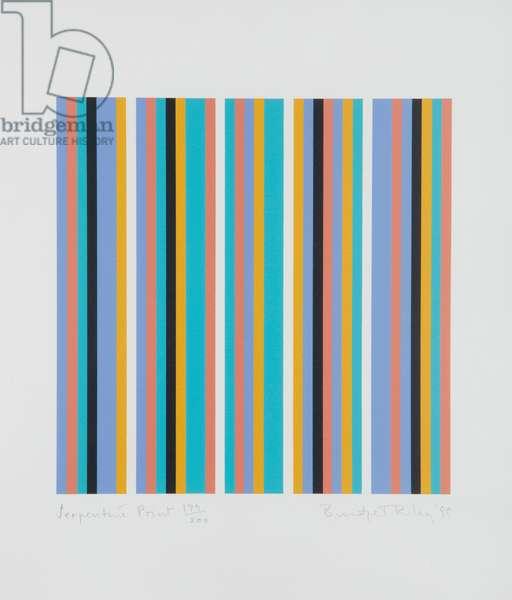 Serpentine Print, 1999 (Schubert 39) (screenprint on wove paper)