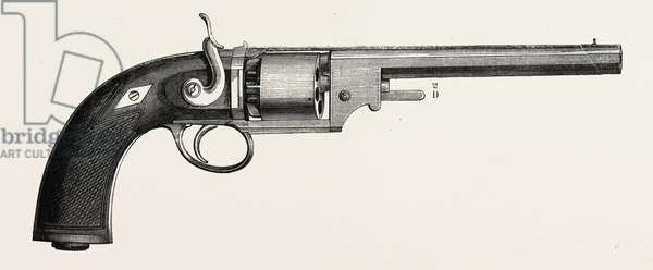 Revolver-Devismes. Engraving 1855