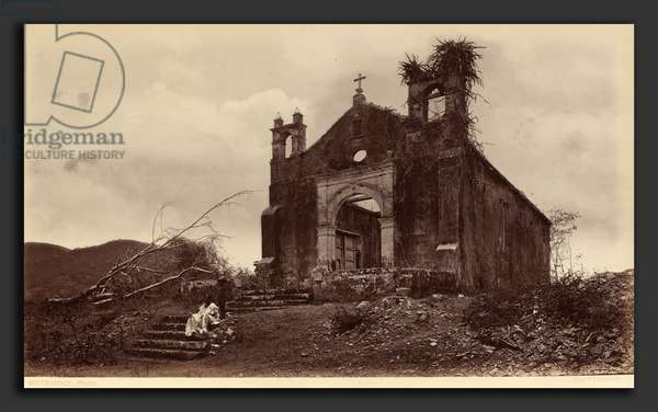 Eadweard Muybridge (American, born England, 1830 - 1904), Ruins of the Church of San Miguel, Panama, 1877, albumen print ©QuintLox/Leemage