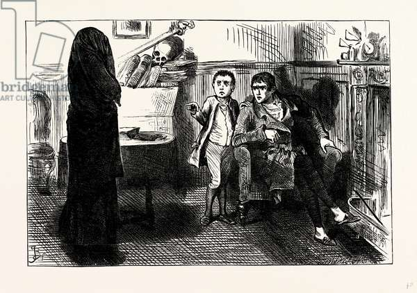 Charles Dickens Sketches by Boz the Black Veil.
