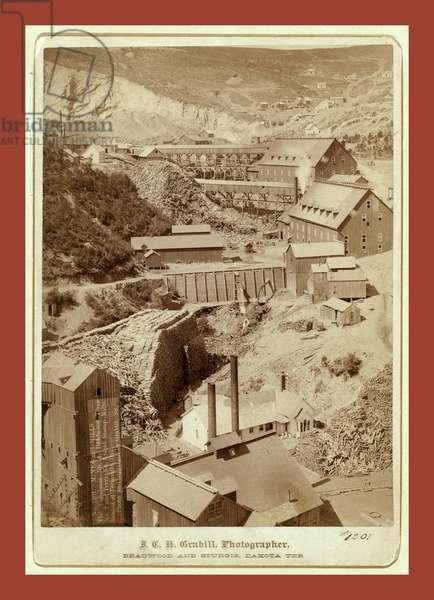Mines and Mills. The Caledonia No. 1, Deadwood Terra No. 2, and Terra No.  Gold Stamp Mills, Located at Terraville, Dak.