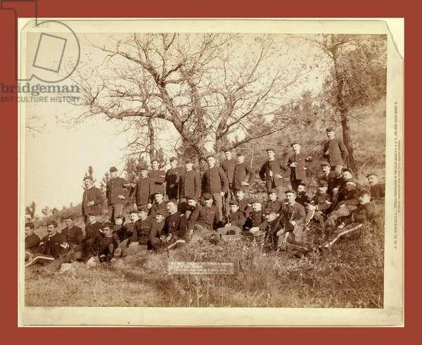 Company C, 3rd U.S. Infantry Near Fort Meade, So. Dak.