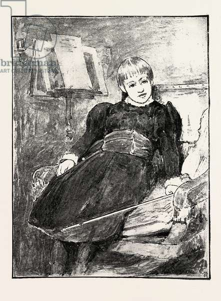 Sketches of Pictures in the Exhibition of the Royal Institute of Painters in Water Colours: Miss Marjorie