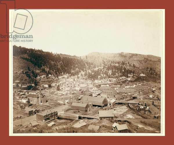 Deadwood, [S.D.] from Mcgovern Hill