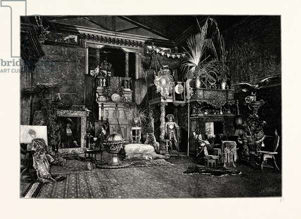Hans Makart's Studio. Hans Makart (May 28, 1840 October 3, 1884) Was a 19th Century Austrian Academic History Painter