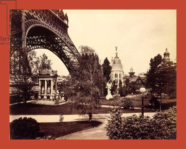 Eiffel Tower, Paris, France, 19th Century, Statue, Park
