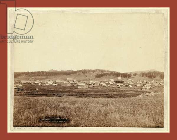 Custer City. Custer City, Dak. From the East
