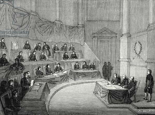 Alessandro Volta Reads Before the Academy of Science His Memoir of the Battery in the Presence of the First Consul Bonaparte (18 November 1800)