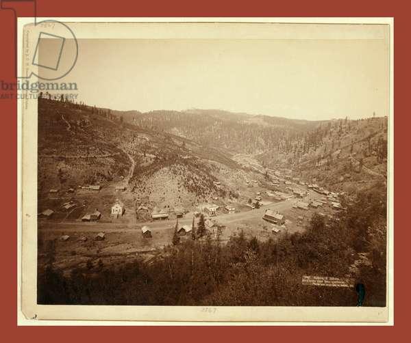 Galena, S. Dakota. Bird's-Eye View from Southwest