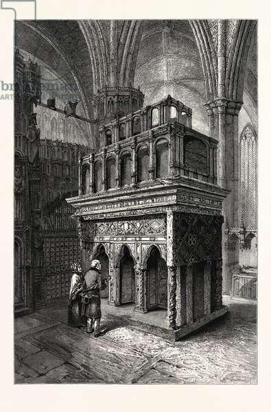 Edward the Confessor's Shrine, Westminster Abbey, London, UK