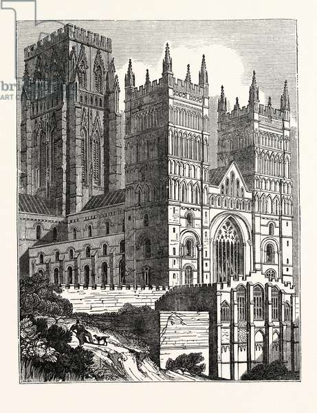 North-West View of Durham Cathedral