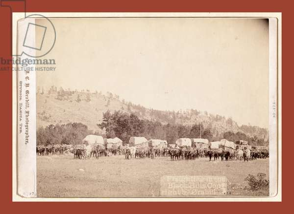 Freighting in the Black Hills
