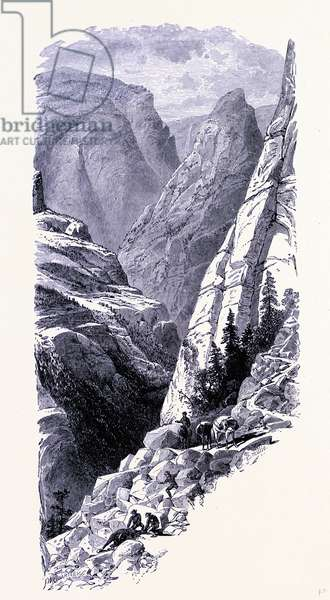Yosemite National Park the Merced Chasm United States of America