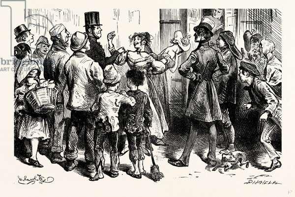Charles Dickens Sketches by Boz the Prisoners Van.