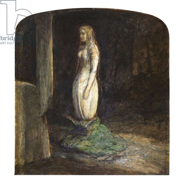 The Eve of St Agnes, 1850 (oil on millboard)