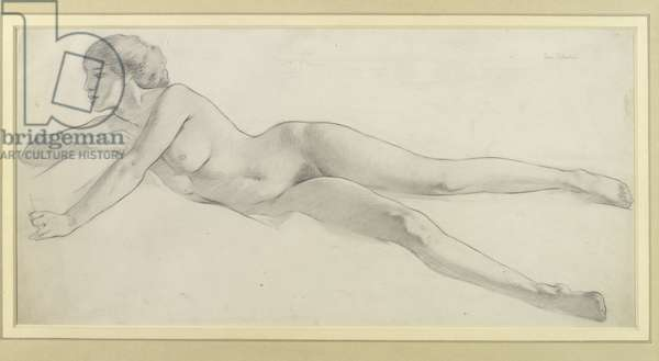 Study for 'Desire', 1911 (pencil on paper)