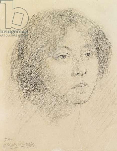 Alick Schepeler (pencil on paper)