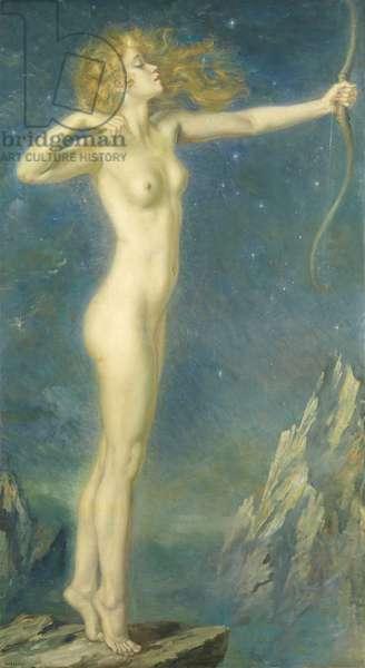 Artemis (oil on canvas)