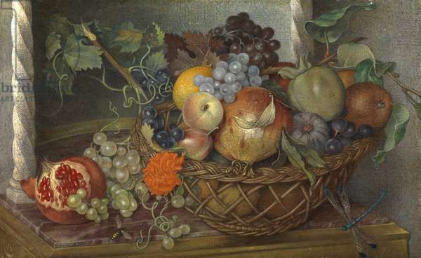 Fruit of the South (tempera on panel)