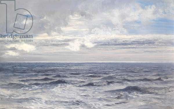 Silver Sea, 1869 (oil on canvas)