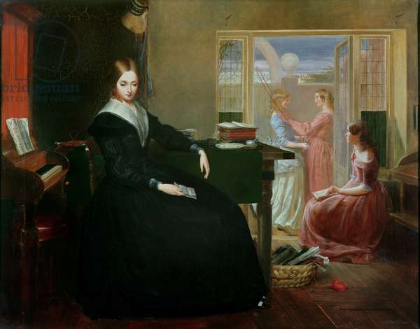 The Governess, 1844 (oil on canvas)