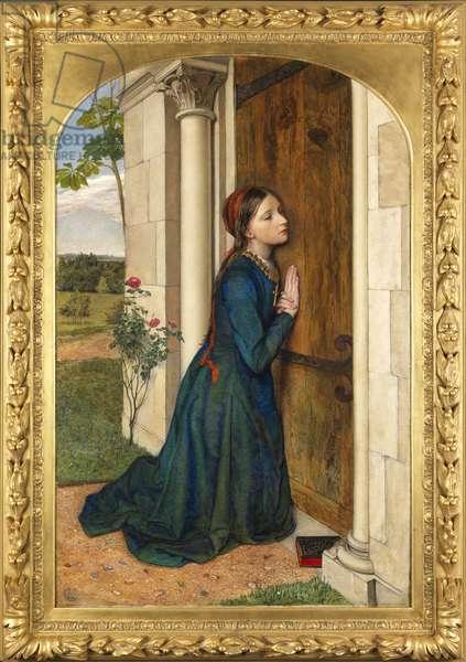 The Devout Childhood of Saint Elizabeth of Hungary, 1852 (oil on canvas)