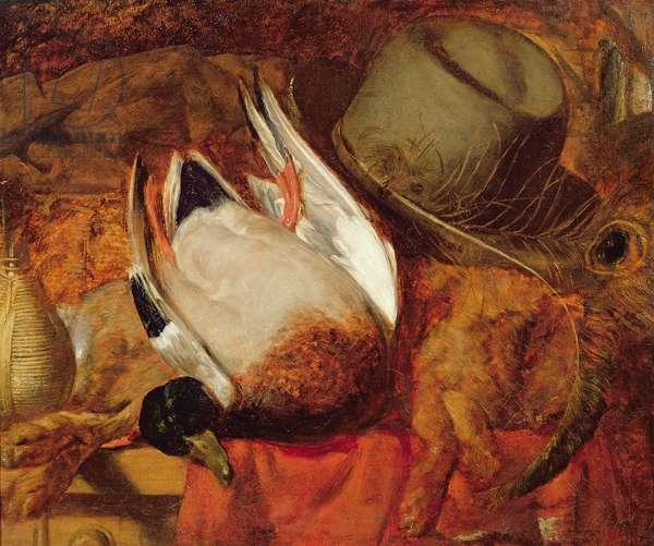 The Dead Mallard (oil on canvas)