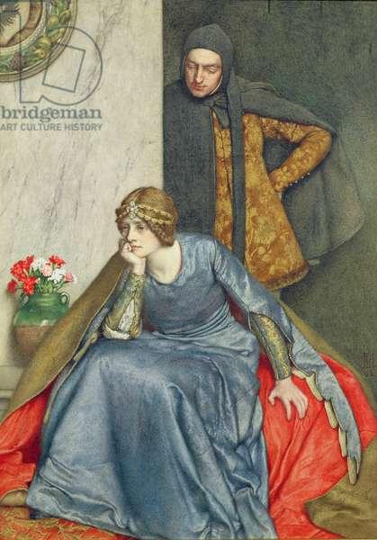 Doubt, 1902 (w/c)