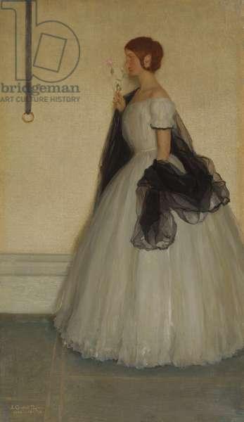 June Roses, 1906 (oil on panel)