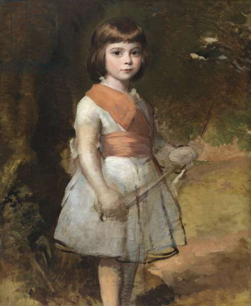The artist's youngest son, John, in 1861 (oil on canvas)
