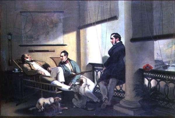 Dent's Verandah, Macao, 1842